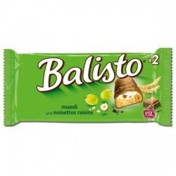 barre chocolatée BALISTO noisettes & raisins  37gx20