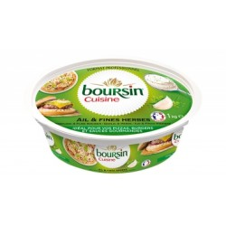 Boursin cuisine ail et fines herbes 1 kg