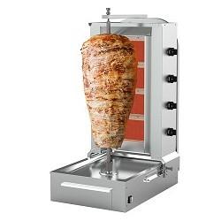 Machine Doner Kebab 4 feux(garantie moteur uniquement 6 mois)